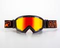 マッドマックス [ユーロフィット] 眼鏡対応オフロードゴーグル Black/Red
