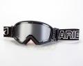 マッドマックス [ユーロフィット] 眼鏡対応オフロードゴーグル Black/Silver
