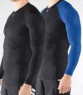 【定番】ロングスリーブ コンプレッション(Co30) VIRUS メンズ StayCool 冷速乾 ブラック
