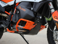 KTM792 OUTBACK motortek クラッシュバー+スキッドプレート