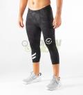 【新商品】ブーツカットパンツ コンプレッション(SiO17) VIRUS メンズ Stay Warm 暖速乾 ブラックカモ