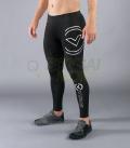 ロングパンツ コンプレッション(SiO9) VIRUS メンズ Stay Warm 暖速乾 ブラック