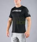 Tシャツ VIRUS メンズ (TT1) StayCool 速乾 ストリート ブラック