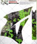 【アウトレット】AMR フルキット KX85-100 (14-16)カモプレート 即納