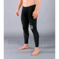 VMOTO コンプレッション ロングパンツ(SiO11)VIRUS メンズ Stay Warm 暖速乾 ブラック