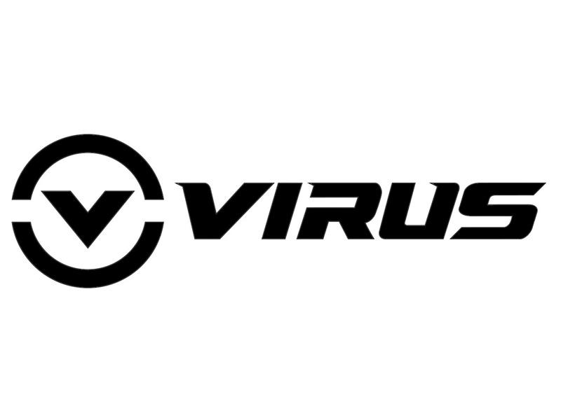 【新商品】オフィシャルステッカー 1枚 VIRUS