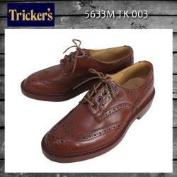 正規取扱店 Tricker's トリッカーズ 5633M COUNTRY BOURTON(カントリーバートン) ダブルレザーソール マロンアンティーク TK003