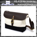 正規取扱店 HERITAGE LEATHER CO.(ヘリテージレザー) NO.8036 Mini Shoulder Bag(ミニショルダーバッグ) Natural/Black HL048