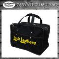 正規取扱店 Lewis Leathers(ルイスレザー) CANVAS HOLDALL BAG(キャンバスホールドオールバッグ) BLACK ブラック