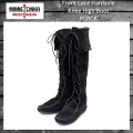 正規取扱店 MINNETONKA(ミネトンカ) Front Lace Hardsole Knee High Boot(フロントレースニーハイブーツ)#1429 BLACK MT051