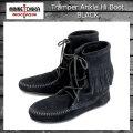 正規取扱店 MINNETONKA(ミネトンカ)Tramper Ankle Hi Boot(トランパー アンクルハイブーツ)#429 BLACK レディース MT023