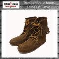 正規取扱店 MINNETONKA(ミネトンカ) Tramper Ankle Boots(トランパーアンクルハイブーツ)#428 DUSTY BROWN SUEDE レディース MT222