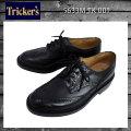 正規取扱店 Tricker's トリッカーズ 5633M COUNTRY BOURTON(カントリーバートン) ダブルレザーソール ブラックボックスカーフ TK001