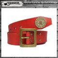 VASSER(バッサー)Anchor Concho Tip Belt Vintage Red(アンカーコンチョティップベルト ビンテージレッド)