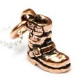 正規取扱 VASSER(バッサー) Biker Boot Pendant Copper w/Silver Ball Chain(バイカーブーツペンダント コッパー)