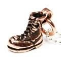 正規取扱 VASSER(バッサー) Biker Boot Pendant 2nd Copper w/Ball Chain(バイカーブーツペンダント セカンド コッパー)