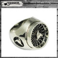 VASSER(バッサー)Wire Wheel Ring Silver(ワイヤーホイールリングシルバー)