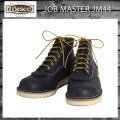 正規 Wescoウエスコ Jobmasterジョブマスター Navyネイビー Leather, Semi Lace to Toe, 6height,#1010sole JM44