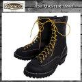正規 Wescoウエスコ Jobmasterジョブマスター Black ブラック, Lace to Toe, 10height,#100sole JM47