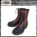 正規 Wescoウエスコ Jobmasterジョブマスター Navy & Redwood, Leather, 10height, Nickle Eyelet,  Navy Top Facing, #705sole JM48