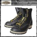 正規 Wescoウエスコ Jobmasterジョブマスター Black ブラック Leather,Lace to Toe,8height,#100sole,Lace in Zipper JM50