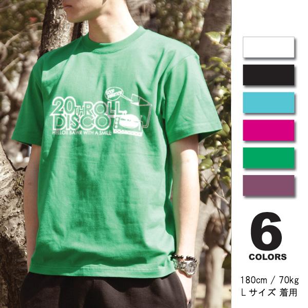 【メール便OK】【まとめ買割引・Tシャツフェスタ対象】【Disco/fst037】半袖 Tシャツ s/s S M L XL LL/