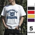 【税別 1480円】【メール便OK】【ビンテージ柄カレッジプリントTシャツ】定番半袖Tシャツ clg01/S M L XL /tシャツ/メンズス/LL/大きいサイズ/ロゴ・文字/ネット限定/