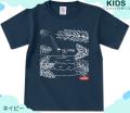 【キッズTシャツパラダイス・2枚で送無】【CR-long/prd010ks】【メール便OK】子供服/男の子/女の子/半袖 Tシャツ