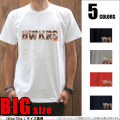 Tシャツメンズ/大きいサイズ/ビッグTシャツパラダイス対象/【BAKNS_Camo/prd027big】まとめ割