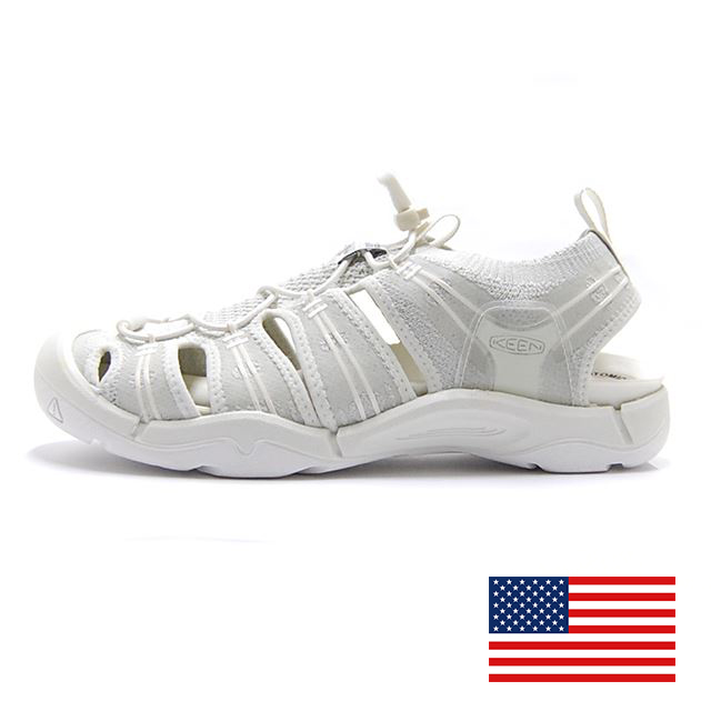 KEEN EVOFIT ONE Triple White MADE IN USA M:1019150 W:1019154