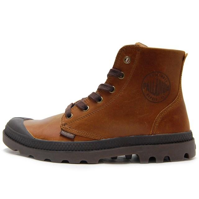 PALLADIUM パラディウム シューズ 靴 スニーカー アーミー ミリタリー ブーツ Pampa Hi Leather パンパ ハイ レザー Sunrise/ Chocolate 02355-237