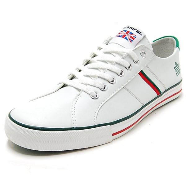 Admiral アドミラル スニーカー WATFORD ワトフォード White/Red/Green ホワイトレッドグリーン SJAD0705-010406 [国内正規販売店]