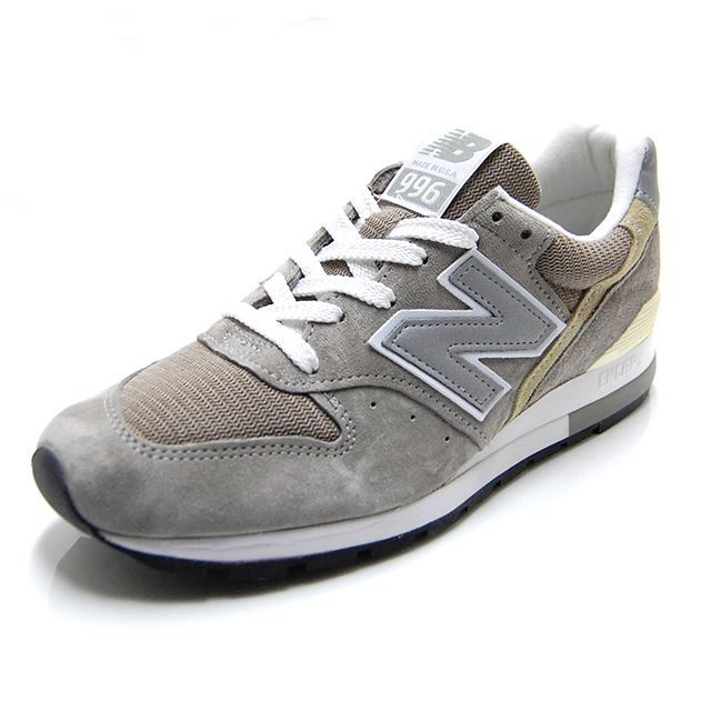 ニューバランス new balance M996 GRAY グレー MADE IN USA M996-GY