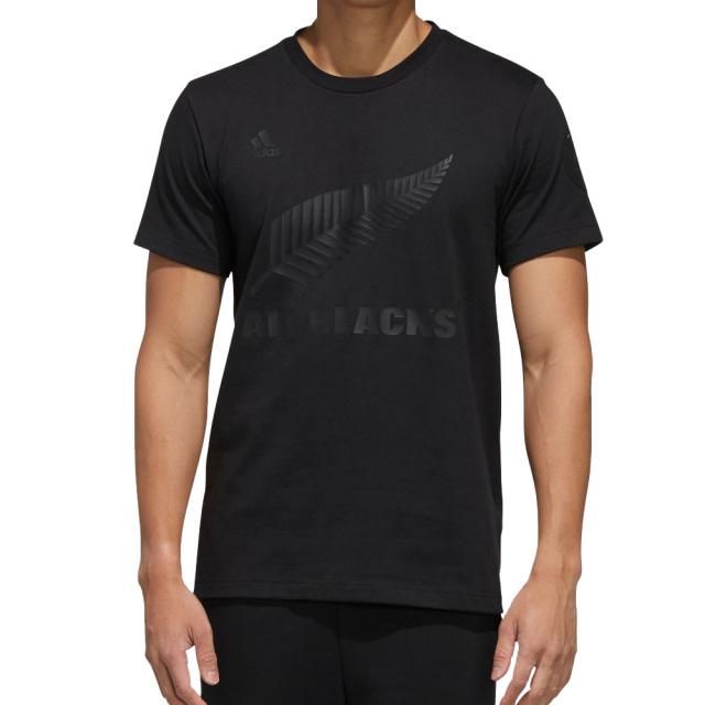アディダス オールブラックス adidas ALLBLACKS 日本限定 Tシャツ メンズ ラグビー ニュージーランド代表 公式 ウェア トップス Tシャツ BLACK FYO15-ED0971