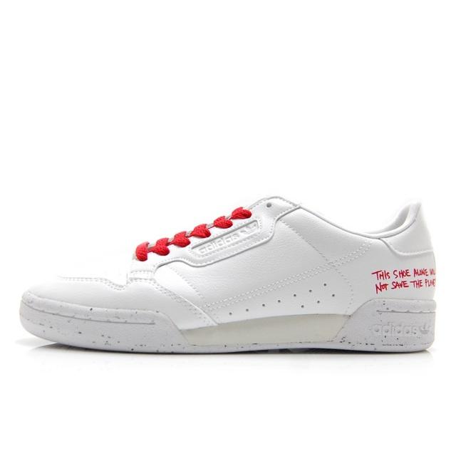 アディダスオリジナルス コンチネンタル 80 adidas Originals CONTINENTAL 80 フットウェアホワイト/スカーレット メンズ レディース スニーカー FU9787