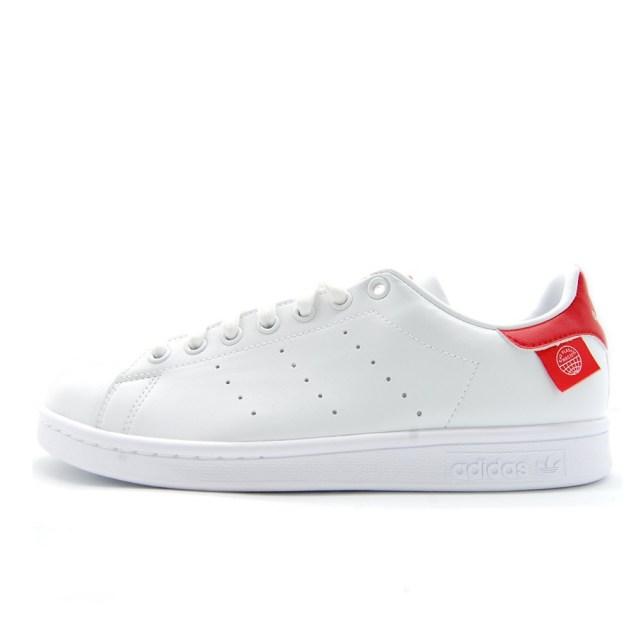 【SALE】 アディダスオリジナルス スタンスミス adidas Originals STAN SMITH フットウェアホワイト/スカーレット/コアブラック メンズ スニーカー サスティナブル ヴィーガン FZ2704