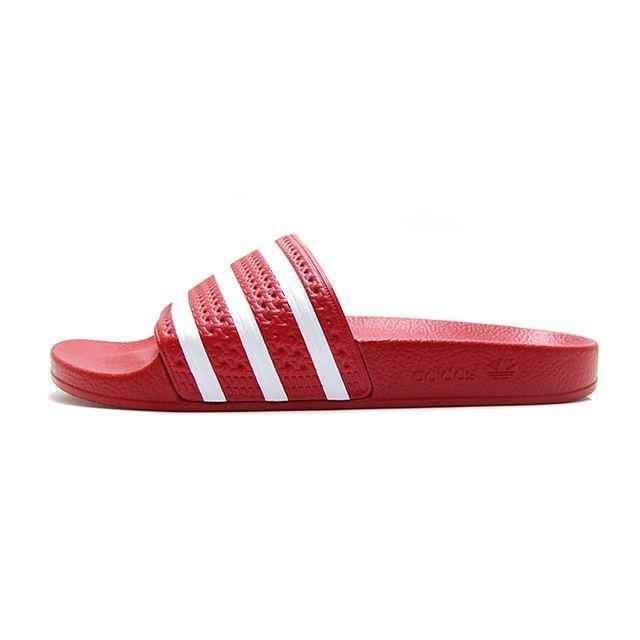 【30%OFF SALE】 アディダスオリジナルス adidas Originals サンダル メンズ レディース アディレッタ ADILETTE シャワーサンダル レッド 288193
