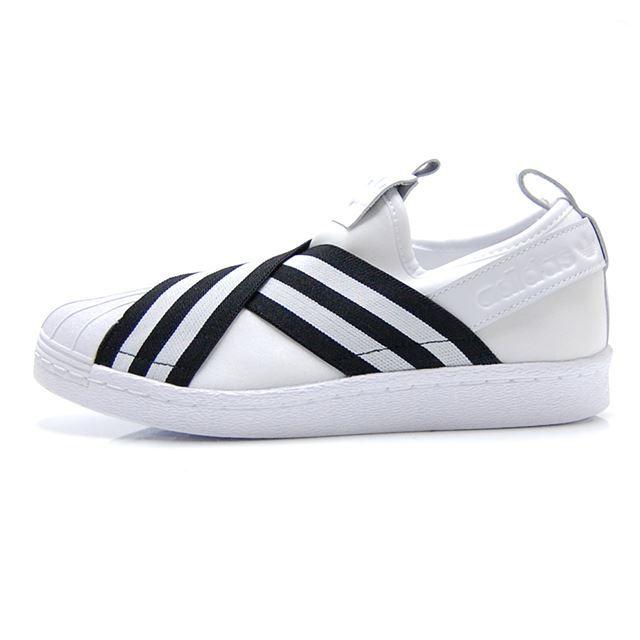 アディダスオリジナルス adidas Originals スニーカー レディース SUPERSTAR SLIPON W スーパースター スリッポン ウィメンズ ホワイト AC8581