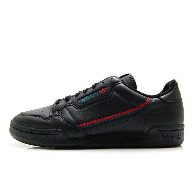 アディダスオリジナルス コンチネンタル 80 adidas Originals CONTINENTAL 80 コアブラック/スカーレット メンズ スニーカー EE5343