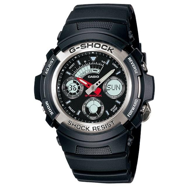 G-SHOCK ジーショック CASIO カシオ メンズ 腕時計 AW-590-1AJF [国内正規販売店]