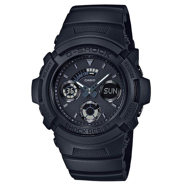 G-SHOCK ジーショック CASIO カシオ メンズ 腕時計 AW-591BB-1AJF [ブラック/黒/マット/国内正規販売店/Authorized Dealer]