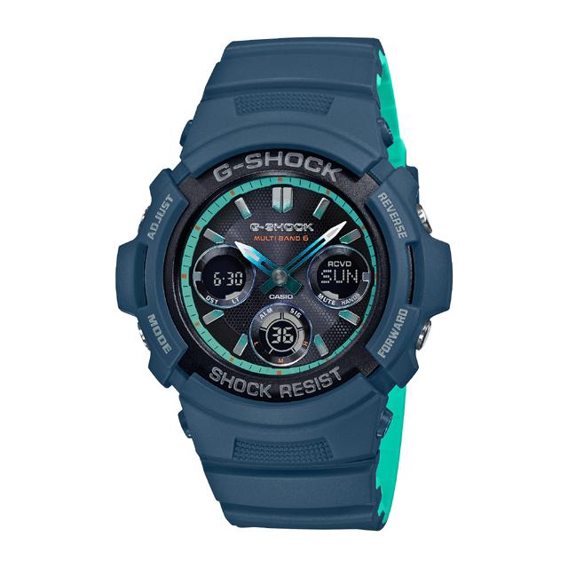 G-SHOCK ジーショック CASIO カシオ メンズ 腕時計 AWG-M100 AWG-M100SCC-2AJF [G-SHOCK/ジーショック/防水/腕時計]
