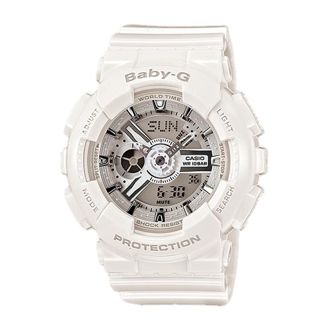 Baby-G ベビージー ベビーG CASIO カシオ レディース 腕時計 BA-110-7A3JF 国内正規販売店