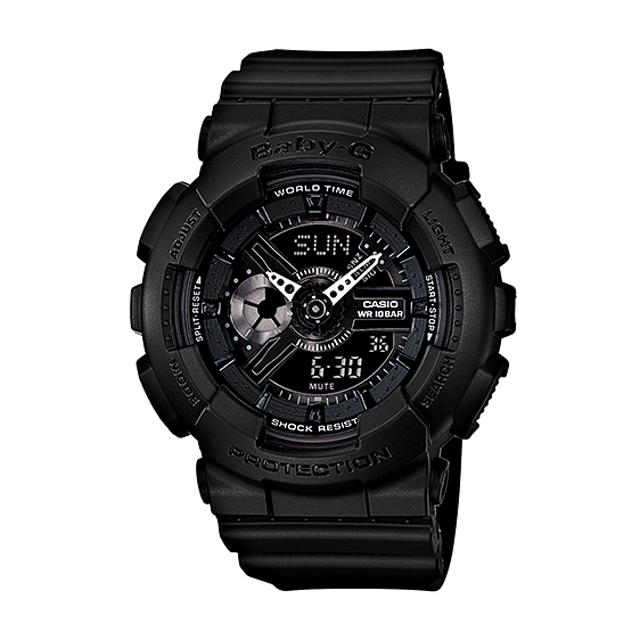 Baby-G ベビージー ベビーG CASIO カシオ レディース 腕時計 BA-110BC-1AJF 国内正規販売店