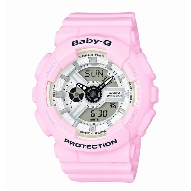 Baby-G ベビージー CASIO カシオ レディース 腕時計 Beach Colors(ビーチ・カラーズ) BA-110BE-4AJF [10気圧防水/パステルカラー/メンズライク]