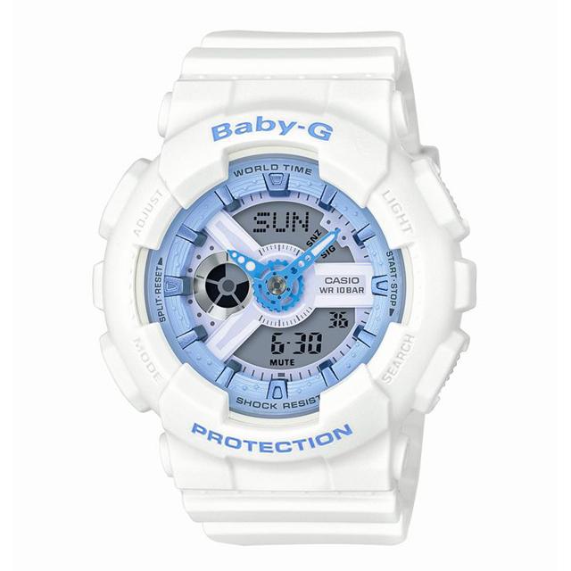 Baby-G ベビージー CASIO カシオ レディース 腕時計 Beach Colors(ビーチ・カラーズ) BA-110BE-7AJF [10気圧防水/パステルカラー/メンズライク]