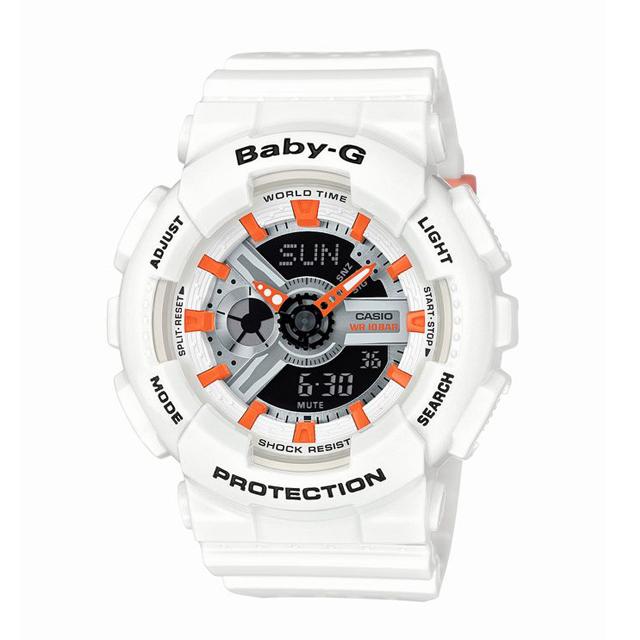 Baby-G ベビージー ベビーG CASIO カシオ レディース 腕時計 Punching Pattern Series パンチング・パターン・シリーズ BA-110PP-7A2JF [10気圧防水/アナログ/スポーティ]