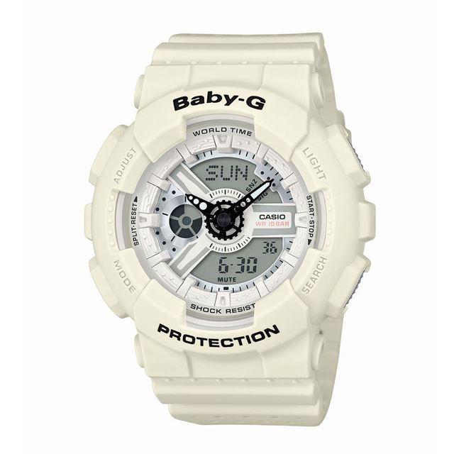Baby-G ベビージー ベビーG CASIO カシオ レディース 腕時計 Punching Pattern Series パンチング・パターン・シリーズ BA-110PP-7AJF [10気圧防水/ワールドタイム/アナログ/国内正規販売店/Authorized Dealer]