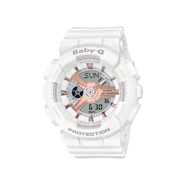 Baby-G ベビージー CASIO カシオ レディース 腕時計 BA-110 BA-110RG-7AJF [BABY-G/ベビージー/防水/腕時計]