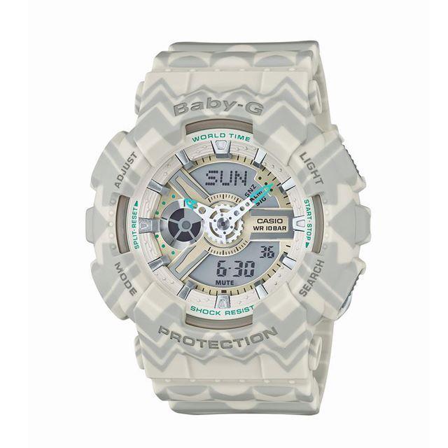 Baby-G ベビージー ベビーG CASIO カシオ BA-110TP-8AJF [ボヘミアン/ヒッピー/レトロ/国内正規販売店/Authorized Dealer]
